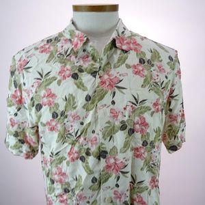Tommy Bahama Men's Floral Short Sleeve Shirt M NWT